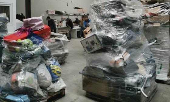 """""""Cadoul"""" Marii Britanii pentru noi: Containerele au ajuns azi în Portul Constanţa şi conţinutul figura drept """"obiecte second-hand"""""""