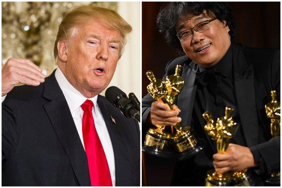 """Trump a criticat filmul """"Parasite"""", marele câştigător al Premiilor Oscar 2020. Răspunsul acid al distribuitorului american: """"Nu ştie să citească"""""""