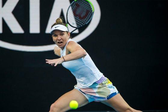 Simona Halep o înfruntă pe Jennifer Brady vineri, în semifinale de la Dubai