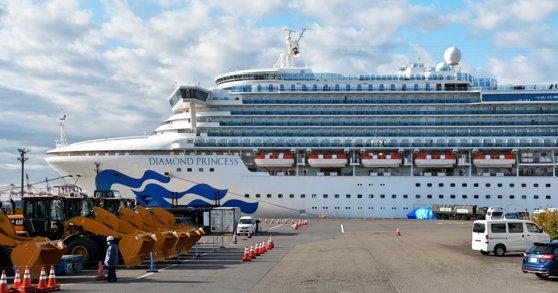 Mai mulţi români de pe vasul Diamond Princess revin, vineri noapte, în ţară / Ei fac parte dintr-un grup de aproape 500 de oameni care nu au simptome de coronavirus