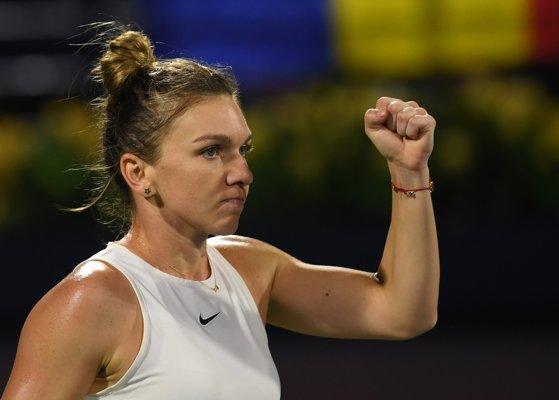 Simona Halep s-a calificat în semifinalele turneului de la Dubai