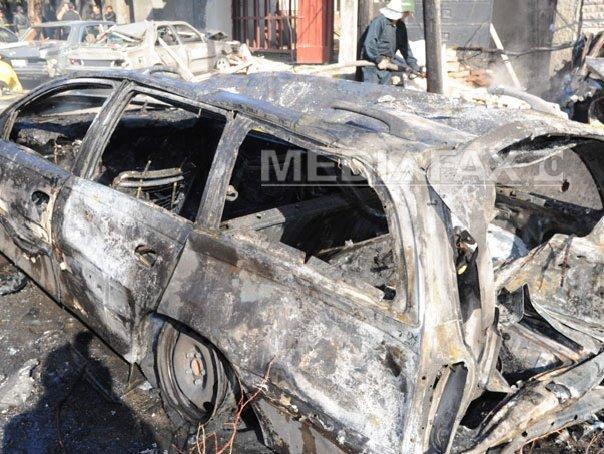 Zece membri ai armatei egiptene au ucişi sau răniţi într-un atac cu bombă
