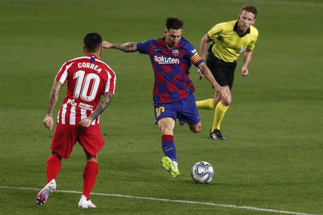 Barcelona, tot mai departe de titlu în Spania. 2-2 cu Atletico pe propriul teren după un meci cu 4 penalty-uri