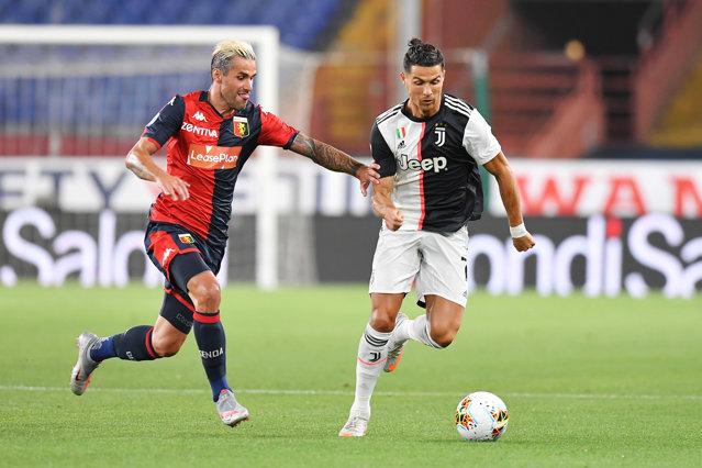 Juventus îşi consolidează poziţia de lider în Italia. Ronaldo marchează un gol superb din afara careului