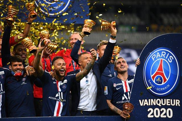 PSG câştiga Cupa Ligii Franţei în faţa lui Lyon la penalty-uri
