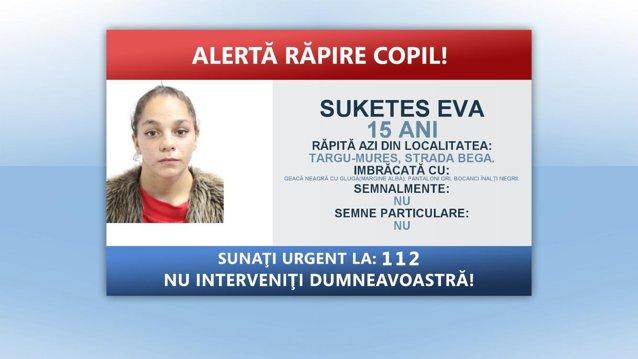 Răpire în plină stradă, în Târgu Mureş: O fată de 15 ani a fost luată cu forţa de un grup de necunoscuţi