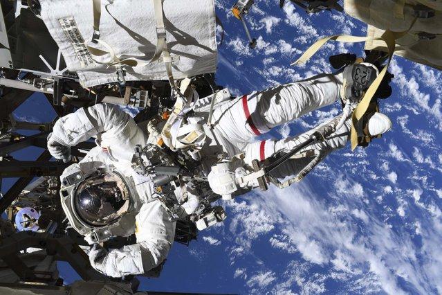 NASA a publicat cele mai frumoase 20 de fotografii făcute de pe Staţia Spaţială Internaţională
