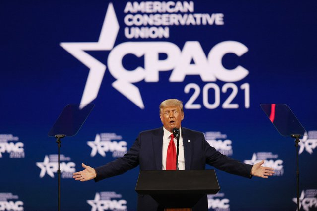 Donald Trump ţine primul discurs public de când a părăsit Casa Albă. Fostul preşedinte a lansat ideea că ar putea candida din nou în 2024