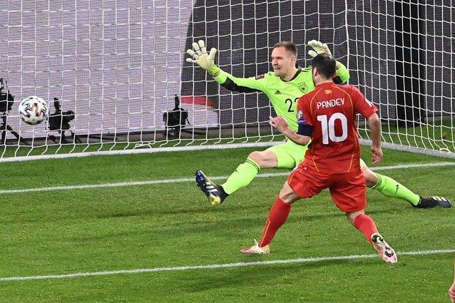 Surpriza preliminariilor în Europa – Germania a fost învinsă de Macedonia de Nord, scor 1-2