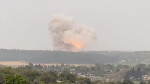 Explozie suspectă într-un complex militar din Israel