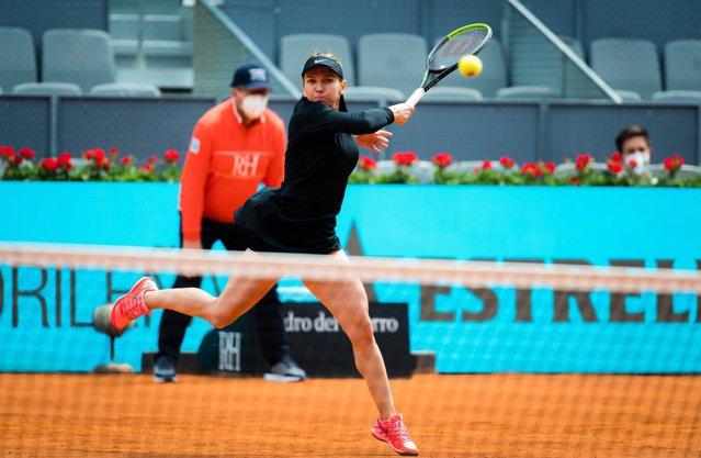Simona Halep o va înfrunta pe Saisai Zheng în turul doi la Madrid Open