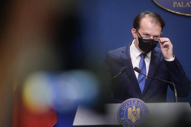 """Florin Cîţu spune că nu se teme de moţiunea de cenzură. """"Arată unde e PSD, lângă AUR"""""""