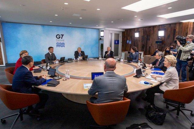 """Liderii din G7 anunţă un plan global de infrastructură sub numele de """"Reconstruim O Lume Mai Bună"""""""