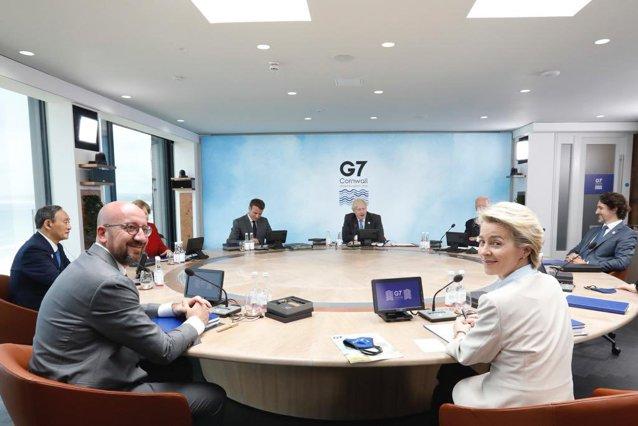 """Liderii din G7 au anunţat un plan global de infrastructură sub numele de """"Reconstruim O Lume Mai Bună"""""""