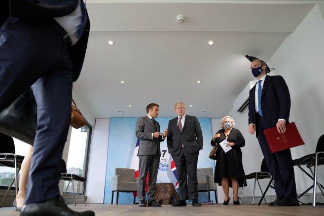 Tensiuni la summitul G7 din Marea Britanie între liderii UE şi Boris Johnson, din cauza crizei nord-irlandeze