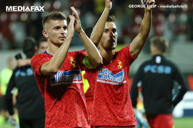 Liga 1 la fotbal: FCSB a făcut instrucţie cu CS Universitatea Craiova