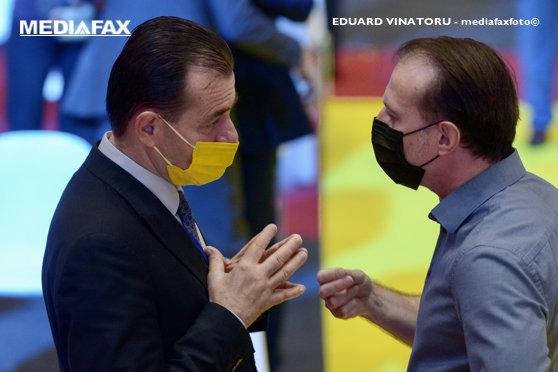 Congresul PNL. Liberalii îşi aleg astăzi preşedintele: Ludovic Orban sau Florin Cîţu. Votul, în jurul orei 14.00