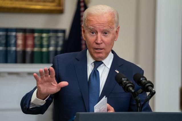 """Joe Biden, către americani: """"Nevaccinaţii înfundă spitalele şi pun în pericol revenirea economică"""""""